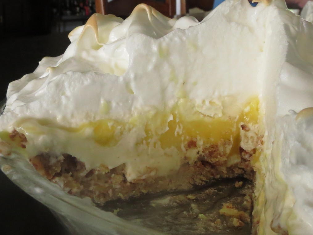 lemon meringue ice cream pie lemon meringue ice cream pie lemon ...